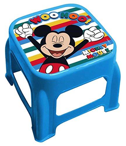 Star Licensing 50278 Disney Michey Tabouret, Multicolore, 24.5 x 24.5 x 20 cm