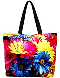 Vj's Ladies Hand Bag With Multi Color (12 Inch * 10 Inch) - B079HWSMBK
