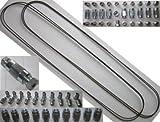 2x Bremsleitung 40x Verschraubung 20x Verbinder 4,75 mm Bördel F PROFI-QUALITÄT MADE IN GERMANY