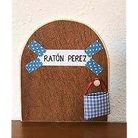 Ratoncito Perez: La auténtica puerta mágica ♥ Con una bolsita de tela (incluída de regalo) para dejar el diente. El Ratoncito Perez, vendrá a por tu diente y dejará una monedita . ♥ ♥