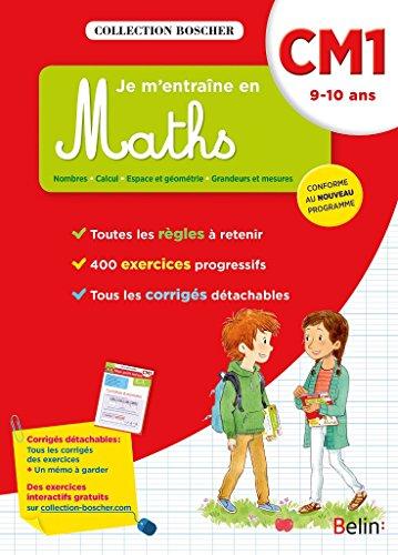 Boscher, je m'entraine en maths CM1 2016