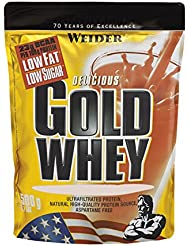 Weider, Gold Whey Protein, Himbeer-Joghurt, 1er Pack (1x 500 g)