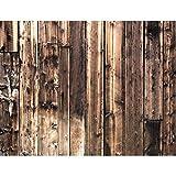 Fototapete Holzoptik Braun Vlies Wand Tapete Wohnzimmer Schlafzimmer Büro Flur Dekoration Wandbilder XXL Moderne Wanddeko - 100% MADE IN GERMANY - Runa Tapeten 9119010b