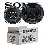 Renault Megane 2 - Sony XS-FB1330 - 13cm 3-Wege Koax Lautsprecher - Einbauset