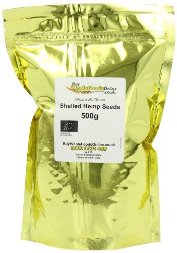 Buy Whole Foods Organic Shelled Hemp Seeds 500 g Test