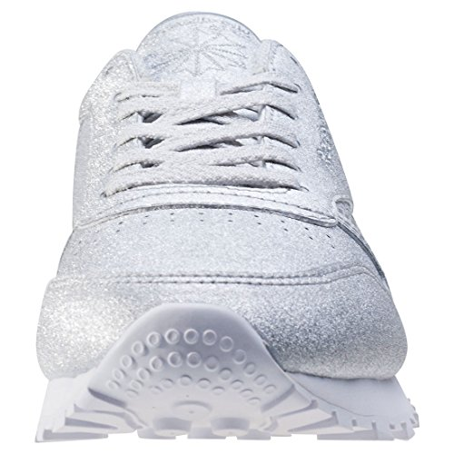 Reebok Damen Classic Leather Met Diamond Laufschuhe Metallisch