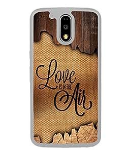PrintVisa Designer Back Case Cover for Motorola Moto G4 :: Moto G (4th Gen) (Love Lovely Attitude Men Man Manly)