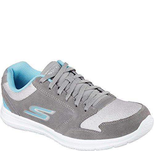 Skechers Gowalk Campione Città Sneaker Grigio/Acqua