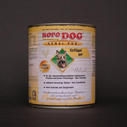 30lattine da 800Gr. ropodog Adult sensi Pur Pollame-Pures carne
