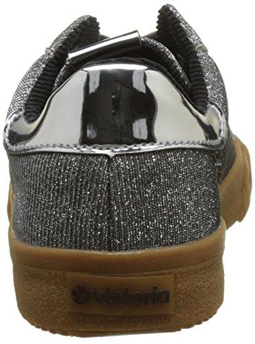 Victoria Ladies Deportivo Sneakers Lurex Argento (plata)