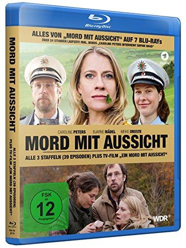 Mord mit Aussicht, Alle 3 Staffeln plus TV-Film Ein Mord mit Aussicht (7 Blu-rays)