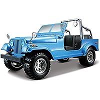 Bburago - Jeep Wrangler, color azul (18-22033)
