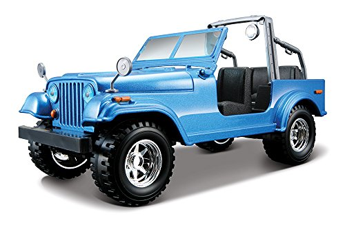 BBurago - 22033 - Voiture sans pile - Reproduction - Jeep Wrangler - échelle 1/24