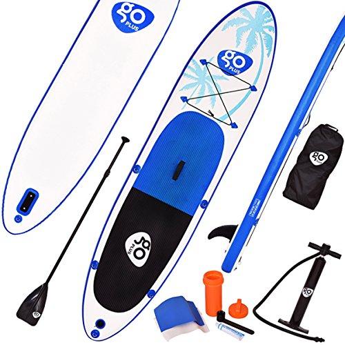 COSTWAY Paddelboard Sup Board Surfboard Stand up Board Set Paddelbrett 330 x 76 x 15cm aufblasbar