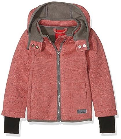 s.Oliver Mädchen Jacke 58.608.51.2716 Rosa (Pink Melange 43W1), 128 (Herstellergröße: 128)