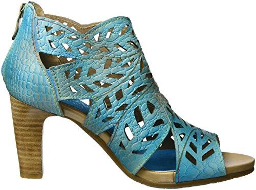 Laura Vita - Albane 04, Sandales Femme Turquoise