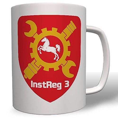 Instandsetzungsregiment 3 Koblenz Bundeswehr Bund Einheit Wappen Inst Reg3 Instandsetzung Deutschland Schrauber Abzeichen- Tasse Becher Kaffee #7627