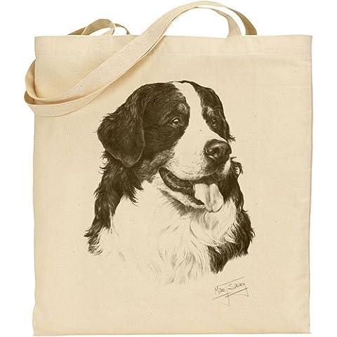 Mike Sibley bermese Tasche Mountain Hund Baumwolle