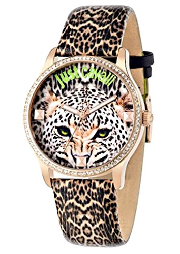 Just Cavalli Time R7251211501 – Reloj Analógico Para Mujer, color Marrón/Marrón