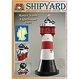Shipyard Roter Sand Leuchtturm Maßstab 1:87 (H0)