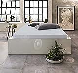 ELUNA Jersey-Spannbettlaken | Hochwertiges Spannbetttuch aus 100% Baumwolle | Jersey-Qualität aus Ringspinngarn | Der optimale und perfekte Matratzenbezug für Ihr Bett | 90/200 bis100/200, stein