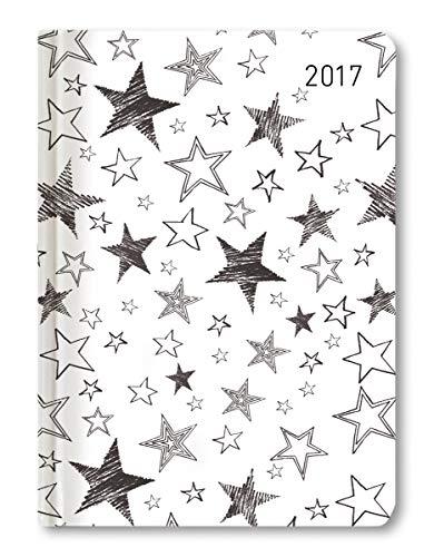 Minitimer Style Sterne 2020 - Taschenplaner - Taschenkalender A6 - Weekly - 192 Seiten -...