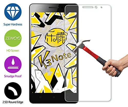 ZeWoo Protector de pantalla de vidrio templado para Lenovo K3 Note K50-t5 4G LTE (5.5 pulgadas) ultra duro 9H *2.5D con un espesor de 0,33 mm
