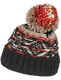 Lierys Lohja Pudelmütze für Damen Wollmützen Wintermütze Pudelmützen mit Futter, mit Futter Herbst Winter