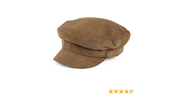 398bf574f5b Failsworth Hats Mariner Corduroy Fiddler Cap - Light Brown X-LARGE   Amazon.co.uk  Clothing