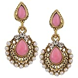 Fine Jewellers Pink & White Beads with D...
