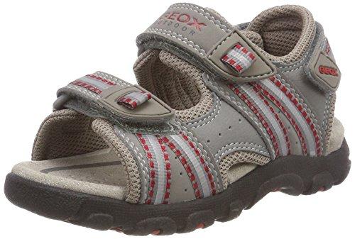 Bild von Geox Jungen Jr Sandal Strada A Open Toe Multifunktions-Sandalen mit perforierter Sohle für maximale Atmungsaktivität und Komfort