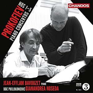 Prokofiev: Piano Concertos [Jean-Efflam Bavouzet, Gianandrea Noseda]