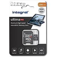 256GB Micro SD Card 4K Ultra-HD Video Premium High Speed Memory Card Microsdxc Up To 100MB/S V30 UHS-I U3 A1 C10, by Integral