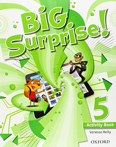 Big Surprise! 5. Activity Book+ Study Skills Booklet - 9780194516242 por Vanessa Reilly