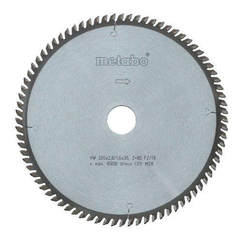 METABO - HOJA SIERRA METAL DURO CORTE MULTIPLE 190X30 36WZ