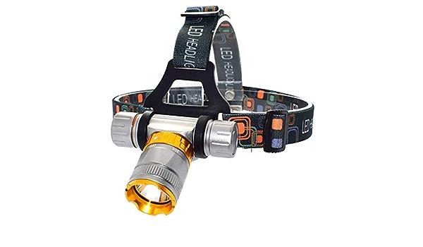WESLITE Lampada Frontale per Immersione Subacquea 1800 Lumen Torcia Frontale da Immersione Subacquea Lampada Frontale Impermeabile con LED XM-L2 per Pesca Subacquea Luce Bianca e Gialla
