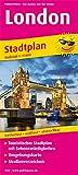 London: Touristischer Stadtplan mit Sehenswürdigkeiten und Straßenverzeichnis. 1:11.000 (Stadtplan / SP) -