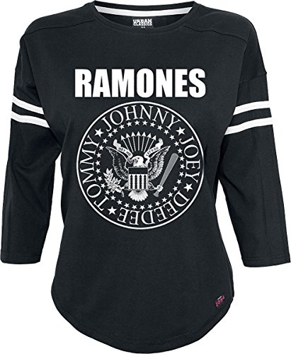 Ramones Seal Manica lunga donna nero M