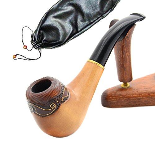 Unique smoking pipes - Pipa intagliata a mano 'Wave'