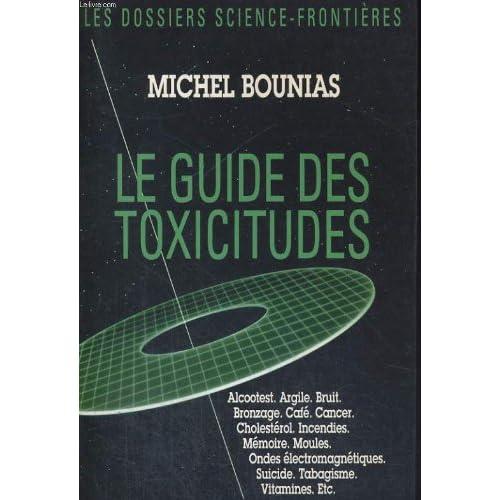 GUIDE DES TOXICITUDES