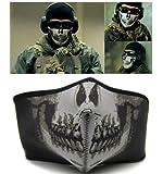 Bicycle Motorbike Bike Cycling Ski Navy Seal SWAT Skull Half Face Cover Mask