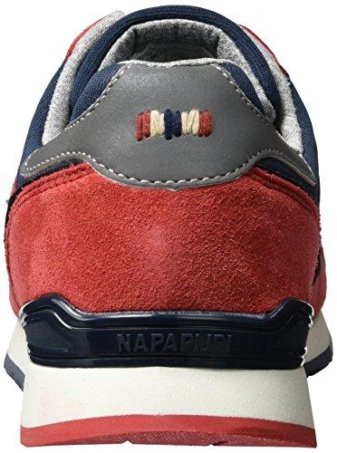 Napapijri Rabari, Sneakers basses homme Mehrfarbig (blue marine+tulip red)