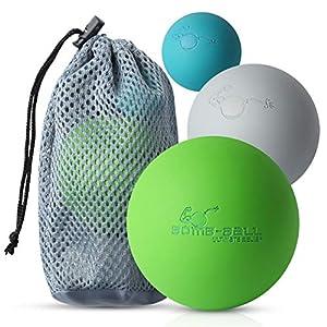 Bomb Ball Massage Ball Set Faszien Lacrosse Blle Fr Ultimative Muskelentspannung Selbstmassage Faszientraining Triggerpunkt Therapie
