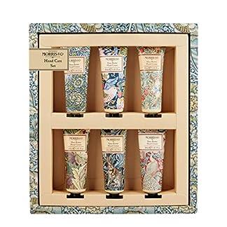 Morris & Co – Juego de cuidado de manos para biblioteca de impresiones (6 x 30 ml), crema de manos