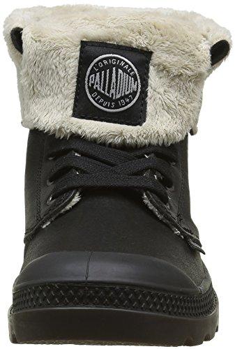 Palladium Baggy Lea Fs F, Baskets Hautes Femme Noir (806 Black Pilot)