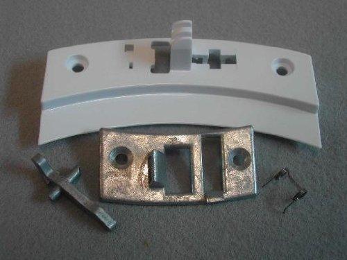 Preisvergleich Produktbild Türriegel Teller: Hotpoint 1600985zum C00198449Hotpoint 95, 99Serie Waschmaschine Door Latch Plate Kit Original: CREDA ELECTRA, Hotpoint