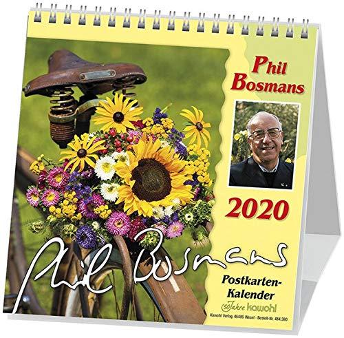 Phil Bosmans Postkartenkalender 2020: Postkartenkalender mit Texten von Pater Phil Bosmans