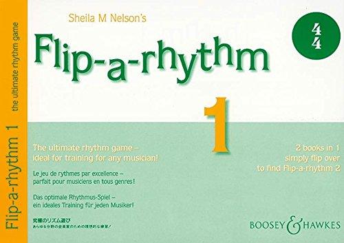 Flip-a-rhythm: Das optimale Rhythmus-Spiel - ein ideales Training für jeden Musiker!. Vol. 1+2. (Ideales Training)