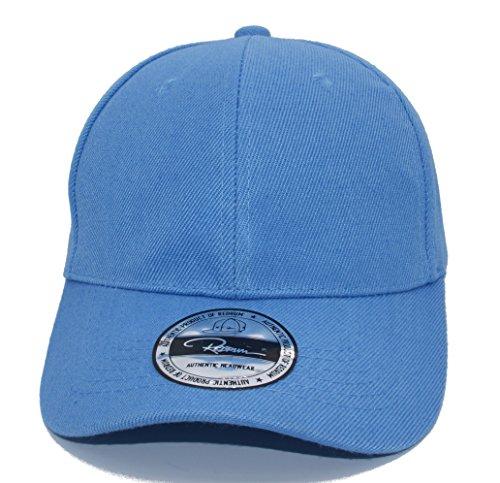 REDRUM Cappy Klettverschluss Cap Kappe Schirmmütze (Hellblau)