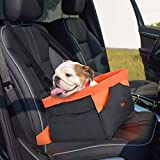 Legendog Dog Car Seat, Waterproof Breathable Pet Dog Cat Car Booster Seat Deluxe